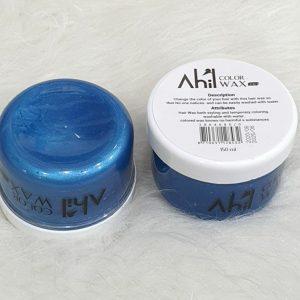واکس موی رنگی آبی آهیل AHIL حجم 150 میلی