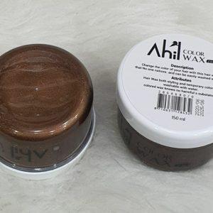 واکس موی رنگی قهوه ای آهیل AHIL حجم 150 میلی