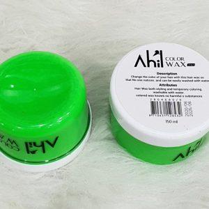واکس موی رنگی سبز آهیل AHIL حجم 150 میلی