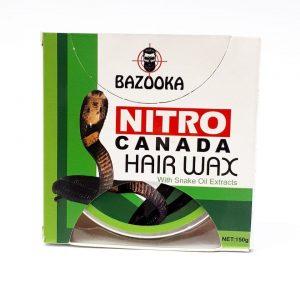 چسب موی ویتامینه براق کننده برند NITRO کانادا با عصاره روغن مار