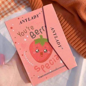 پالت آرایش صورت آنی لیدی کیفی مدل cherry-ish