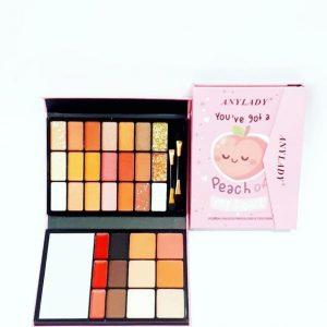 پالت آرایش صورت آنی لیدی کیفی مدل Peach of